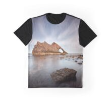 Bow Fiddle Long Exposure Graphic T-Shirt