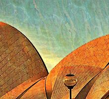 Sydney Opera House Roof Detail by Roger Passman