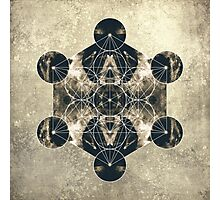 Metatron's Cube Photographic Print