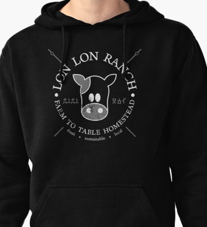 Hipsters of Hyrule - Lon Lon Ranch Pullover Hoodie