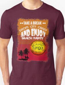 Tonga Beach Unisex T-Shirt
