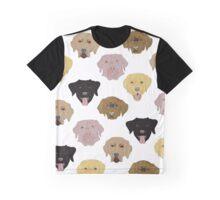 Labradors - Dog pattern Graphic T-Shirt