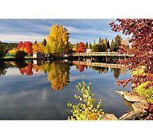 Mirror Pond Fall Spectacle Photographic Print