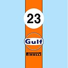 Gulf Oil Racing colours by Confundo