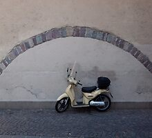 The perfect parking place, Bolzano-Bozen, Italy, 2009 by Chris Culy