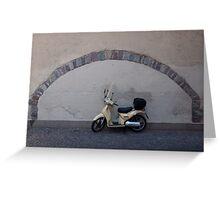 The perfect parking place, Bolzano-Bozen, Italy, 2009 Greeting Card