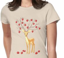 Autumn Fawn Womens Fitted T-Shirt