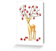 Autumn Fawn Greeting Card