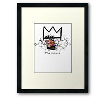 King Alphonso Framed Print