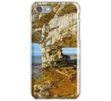 Rock Arch at Cave Point iPhone Case/Skin