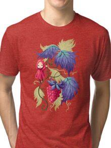 Raspberry Tri-blend T-Shirt