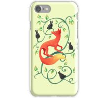 Bunnies and a Fox iPhone Case/Skin