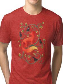Bunnies and a Fox Tri-blend T-Shirt