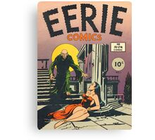 Eerie Comics - The Ghoul Approaches Canvas Print
