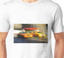 NY Taxi Race Unisex T-Shirt