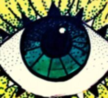 All-Seeing Mother Nature Sticker