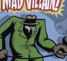 Madvillain! comic character Sticker