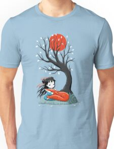 Girl and a Fox 2 Unisex T-Shirt