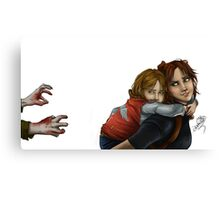Claire & Sherry Canvas Print