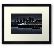The Queen Mary in Sydney Framed Print