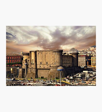 Naples in the morning Photographic Print