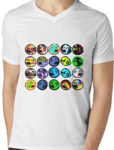 alla DE boos  Mens V-Neck T-Shirt