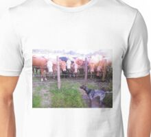 What are you looking at . Unisex T-Shirt