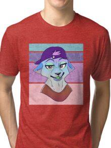 Frosty - Custom Tri-blend T-Shirt