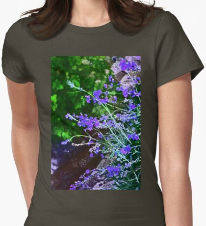 Lavender 4 Womens Fitted T-Shirt