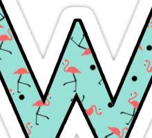 Weezer Flamingo Sticker