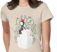 Marshmallow Womens Fitted T-Shirt