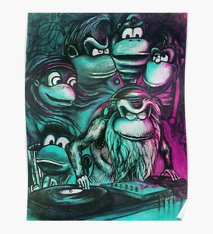 Take It To the Fridge Cranky Donkey Kong 64 Poster