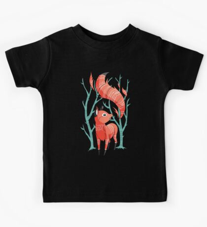 Winter Fox Kids Tee