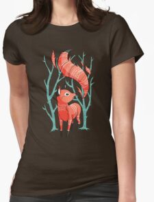 Winter Fox Womens Fitted T-Shirt