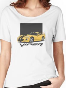 Dodge Viper GTS (yellow/black) Women's Relaxed Fit T-Shirt
