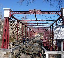 Last surviving Bollman truss bridge by nealbarnett
