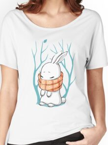 Winter Bunny Women's Relaxed Fit T-Shirt