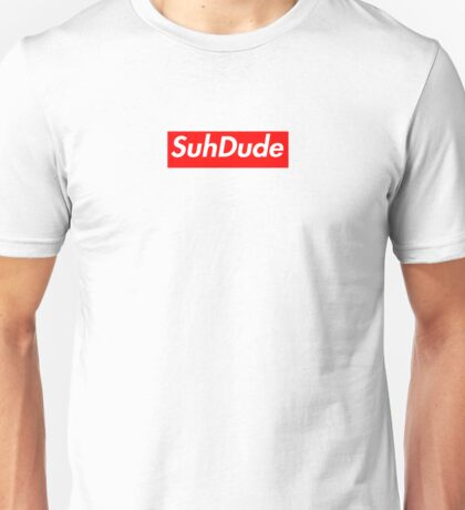 Suh Dude Supreme Box Logo Unisex T-Shirt