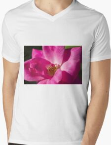 roses in the garden Mens V-Neck T-Shirt