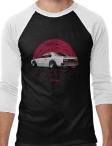 Nissan Skyline C210 (white) Men's Baseball ¾ T-Shirt