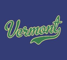 Vermont Script VINTAGE Green by USAswagg2