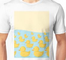 Rubber Duckie Army Unisex T-Shirt
