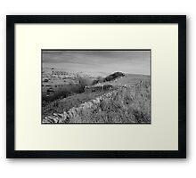 Peak District Derbyshire England UK 2003 Framed Print
