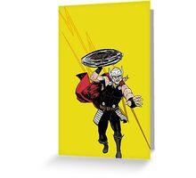 Thor God Of Thunder Greeting Card