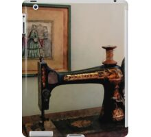 Sewing Machine and Lithograph iPad Case/Skin