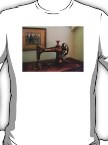 Sewing Machine and Lithograph T-Shirt