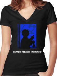 Beeker's Boss Women's Fitted V-Neck T-Shirt