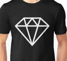 Simple Geometric Diamonds Unisex T-Shirt
