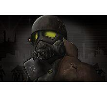 Apocalypse Soldier  Photographic Print