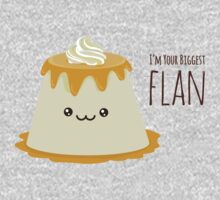 Biggest Flan One Piece - Long Sleeve